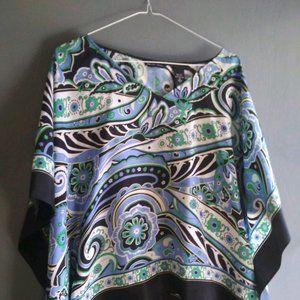New York & Company 100% Silk Blouse - Size Small
